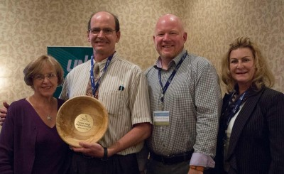 Tumbler Ridge Aspiring Geopark Steering Committee wins Innovator award from Northern BC Tourism