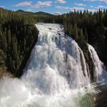 Kinuseo Falls From Drone